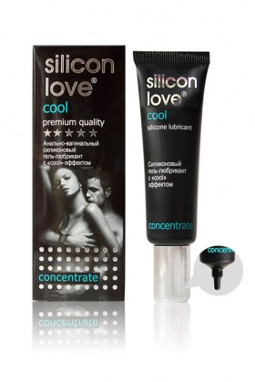 "Гель - любрикант ""Silicon love cool"" 30г, силиконовый с ""cool"" эффектом"