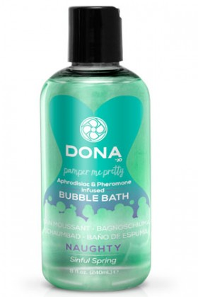 Пена для ванн Dona Bubble Bath Naughty Afoma: Sinful Spring 240 мл