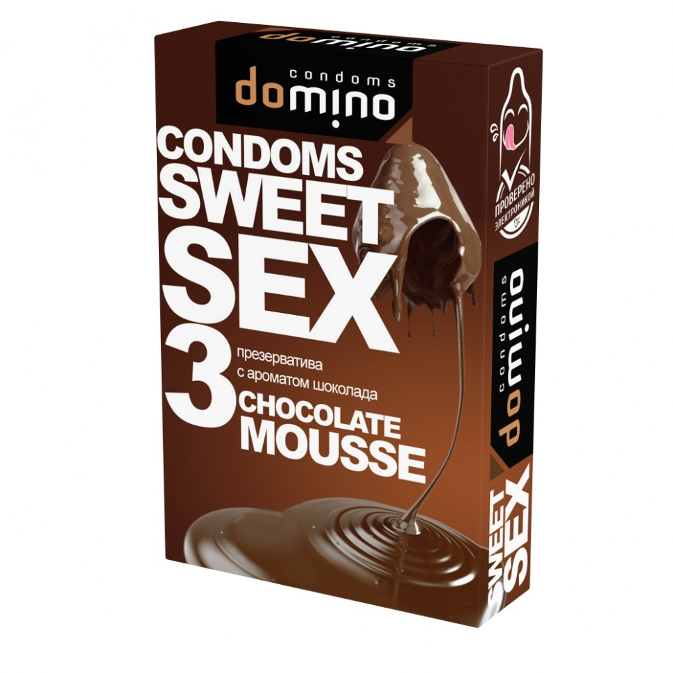 Презервативы Domino Sweet Sex Chocolate mousse